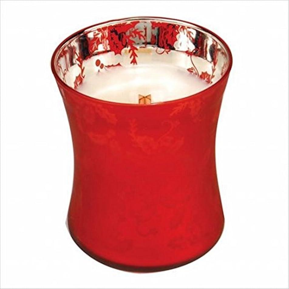 消毒剤報復する奨励ウッドウィック( WoodWick ) Wood Wick ダンシンググラスジャーM 「 ウェルカムクリスマス 」