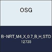 OSG ハイス溝ナシタップ B-NRT_M4_X_0.7_B_H_STD 商品番号 12735