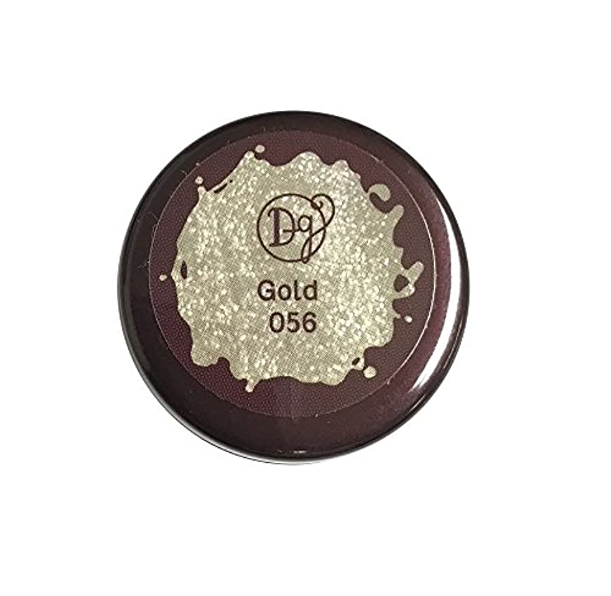 登録する収縮栄光のDECORA GIRL カラージェル #056 ゴールド