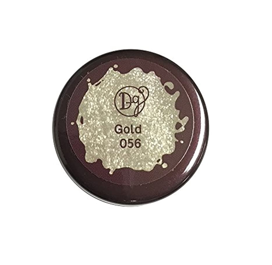 まもなくきらきらブルゴーニュDECORA GIRL カラージェル #056 ゴールド