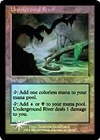 英語版フォイル 第7版 Seventh Edition 7ED 地底の大河 Underground River マジック・ザ・ギャザリング mtg