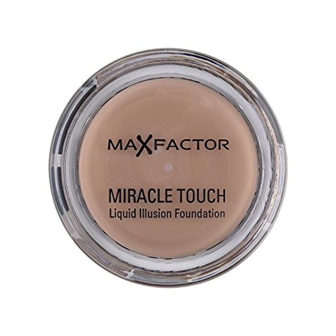 安定再編成する克服するMax Factor Miracle Touch Foundation Warm Almond 45 - マックスファクター奇跡のタッチ基盤暖かいアーモンド45 [並行輸入品]