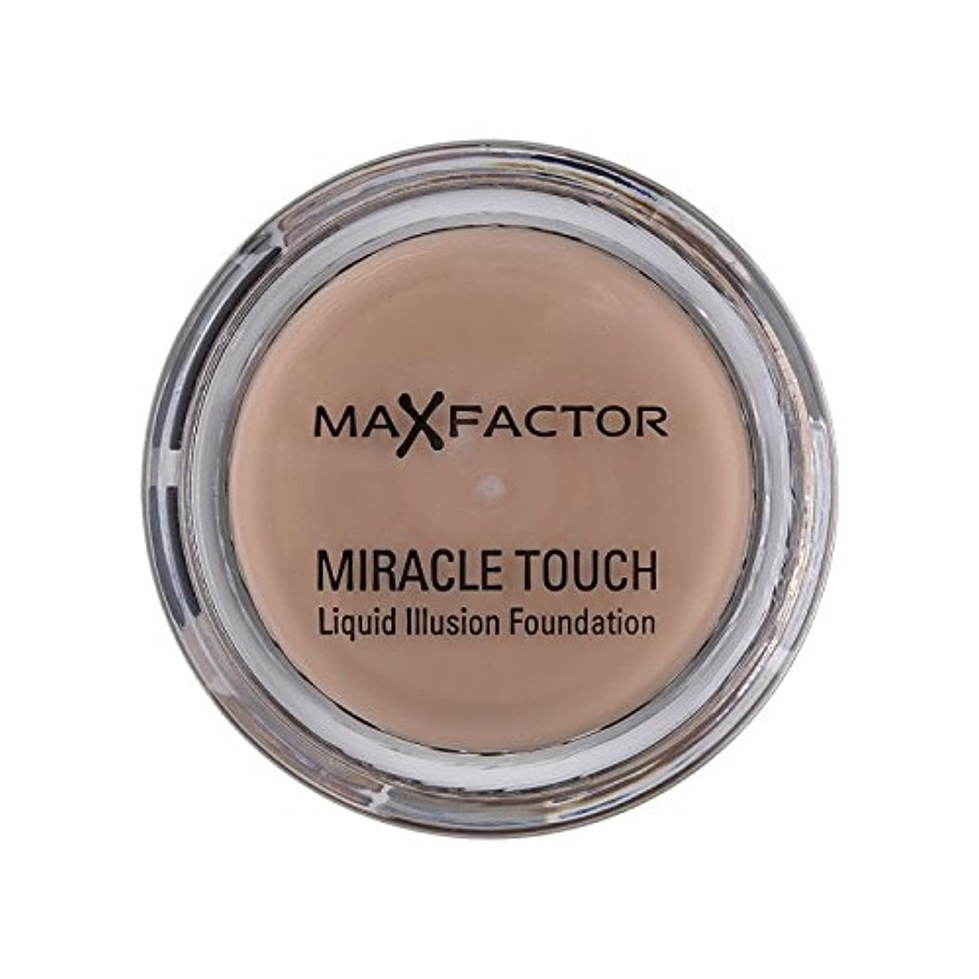 船上インフラみすぼらしいマックスファクター奇跡のタッチ基盤暖かいアーモンド45 x4 - Max Factor Miracle Touch Foundation Warm Almond 45 (Pack of 4) [並行輸入品]
