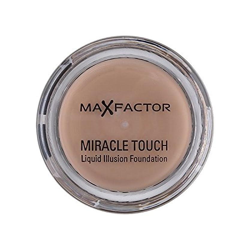 ヒューマニスティック運動する手足マックスファクター奇跡のタッチ基盤暖かいアーモンド45 x2 - Max Factor Miracle Touch Foundation Warm Almond 45 (Pack of 2) [並行輸入品]