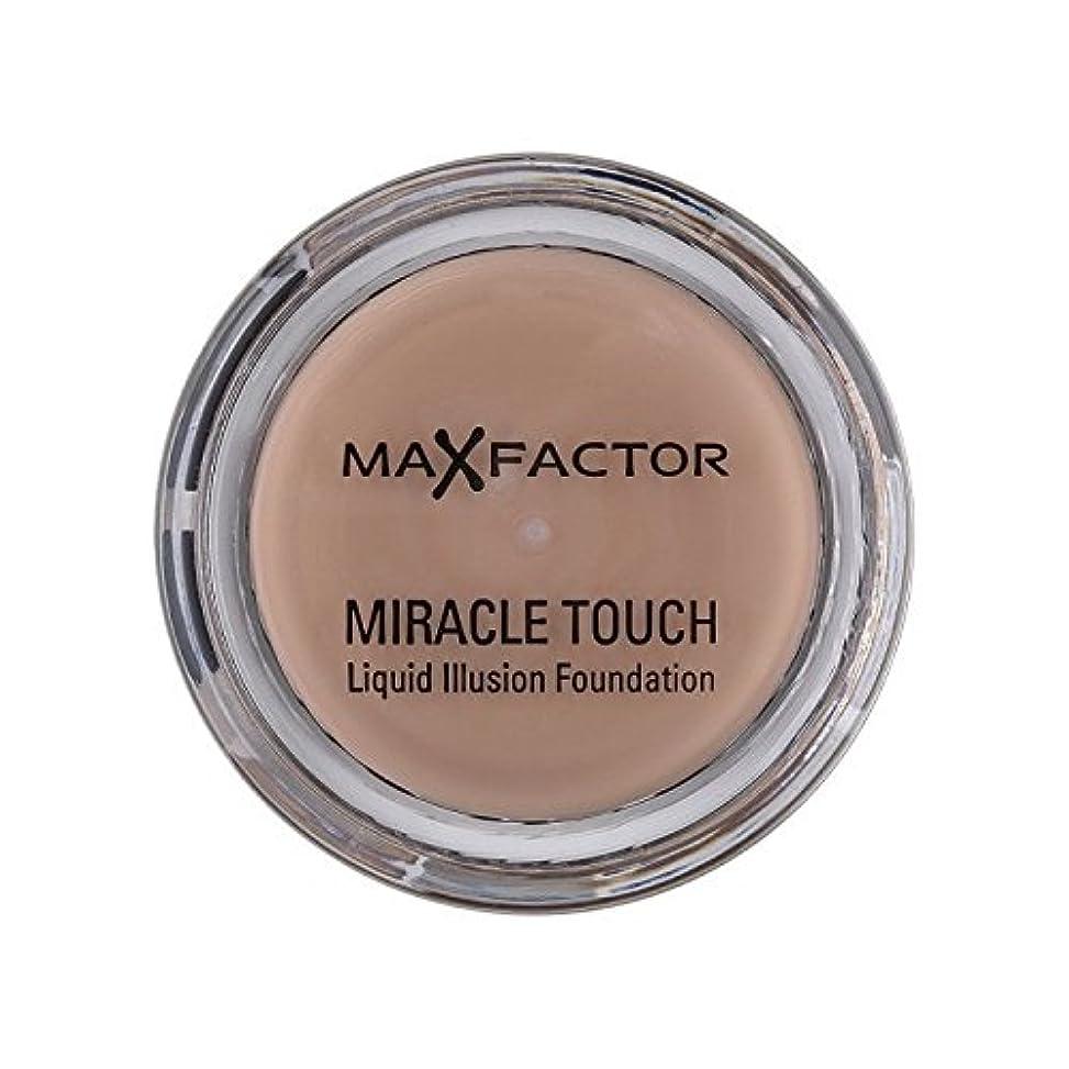 のスコアビスケットリーマックスファクター奇跡のタッチ基盤暖かいアーモンド45 x2 - Max Factor Miracle Touch Foundation Warm Almond 45 (Pack of 2) [並行輸入品]