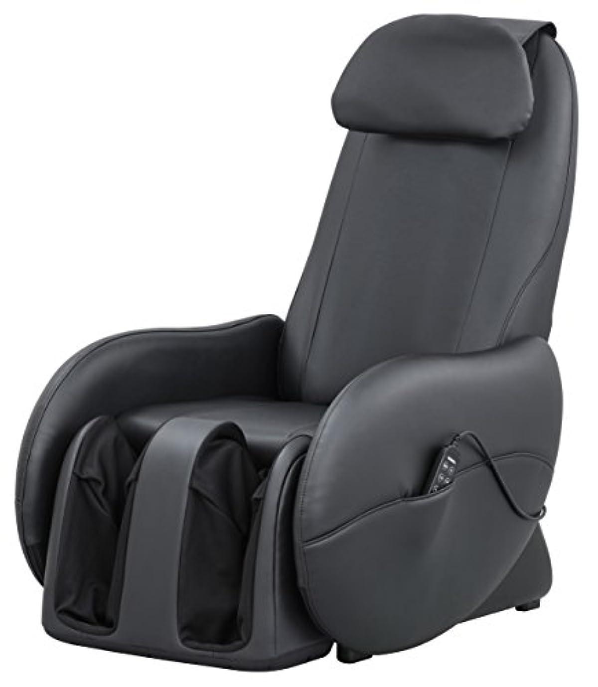テラス却下するオーナースライヴ くつろぎ指定席Light マッサージチェア CHD-3700BK 正規品 ブラック おしゃれ コンパクト 小型
