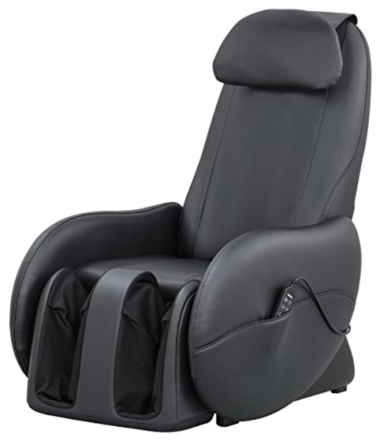 韻インペリアルに同意するスライヴ くつろぎ指定席Light マッサージチェア CHD-3700BK 正規品 ブラック おしゃれ コンパクト 小型