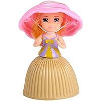 KELAND キッズ プリンセス人形 子供 カップケーキ 人形 カートゥーン カップケーキ プリンセス クリエイティブ 変形ドール 女の子用 S 12