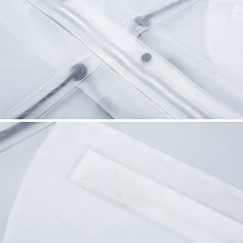 156b3fa09ebe9d ... ZEMIN ポンチョ レインウェア レインコート ポンチョ ウインドブレーカー 防水 カバー ポータブル 女性 セット ズボン ポリエステル  ...