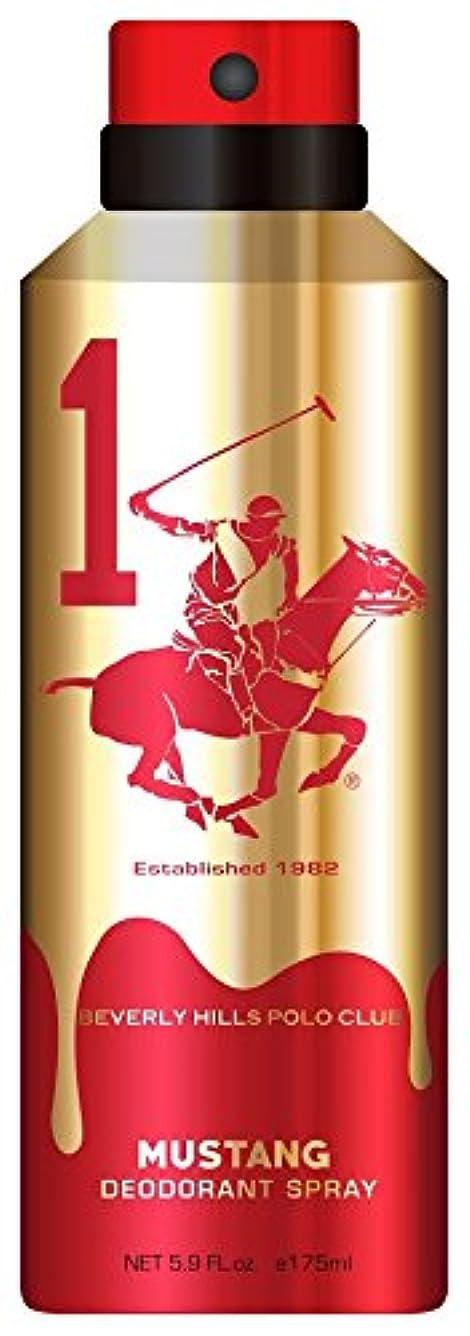 エレメンタル受け入れる鎖Beverly Hills Polo Club Gold Deo, Mustang, 175ml