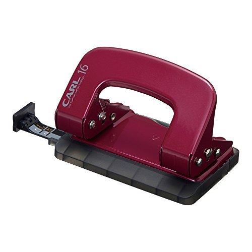 カール事務器 パンチ アリシスLP-16 レッド LP-16-R 00005616 【まとめ買い5個セット】