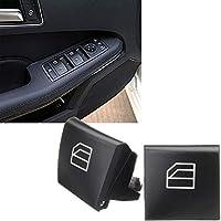 Xotic Tech 2 x 車のウィンドウスイッチボタンカバーキャップ メルセデスベンツ W164 ML W251 GL X164 Rクラス用