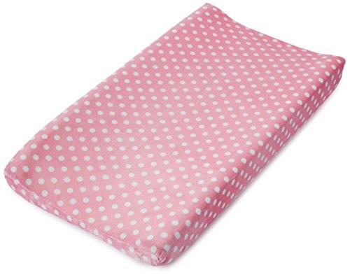 サマー チェンジングパッド用 カバー Infant Ultra Plush Changing Pad Cover Pink Dots