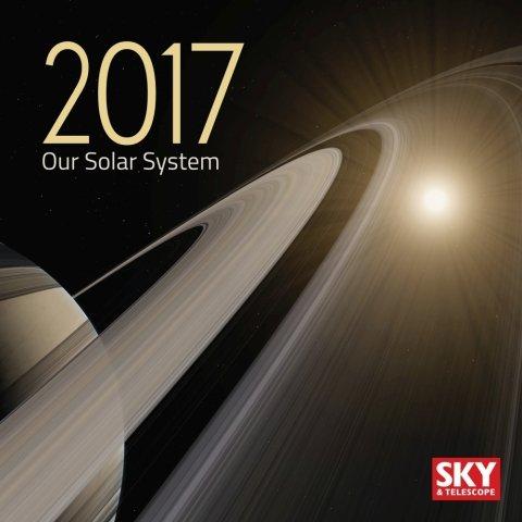 2017Sky &望遠鏡ソーラーシステムカレンダー–9x 11