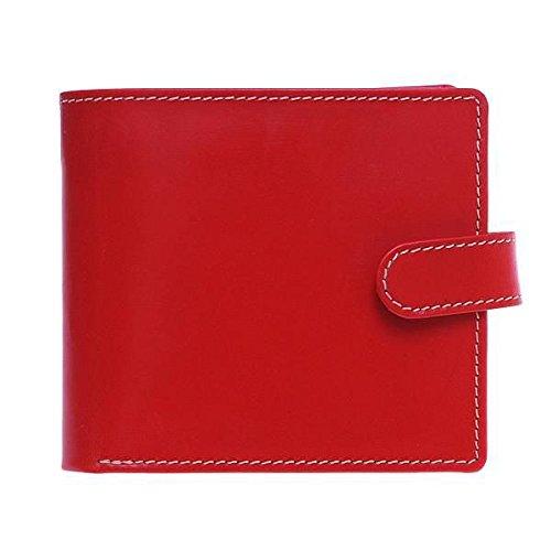 White house Cox ホワイトハウスコックス 財布 サイフ メンズ ベルトホック 三つ折り財布 SR-1816 RED レッド [並行輸入品]