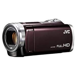 JVCKENWOOD JVC ビデオカメラ EVERIO GZ-E345 内蔵メモリー16GB アーバンブラウン GZ-E345-T