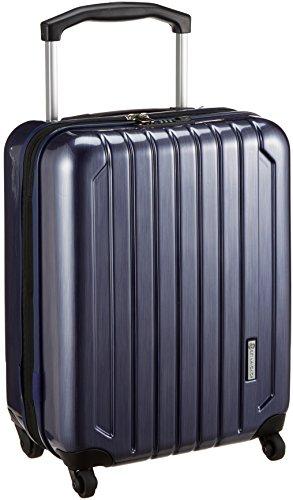 [スカイナビゲーター] スーツケース 保証付 40L 51.5 cm 3.4kg SK-0725-49 ネイビーヘアーライン