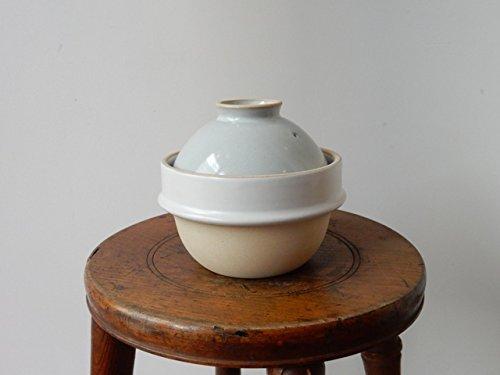 kamacco 益子のプチ土鍋 [ 白釉 / 一合炊き ]