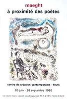 ポスター マルク シャガール Aragon-A proximite des Poetes