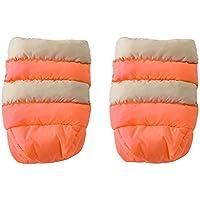 7AM Enfant Stroller WarMMuffs for Parents and Caregivers, Beige/Neon Orange by 7AM Enfant