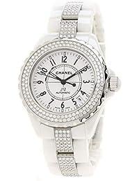 08cc3b7dd2dd [シャネル]J12 38 ダイヤモンドベゼル H1422 腕時計 セラミック/ ...