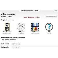 dBpoweramp R16.6 Windows版 2019年1月リリース