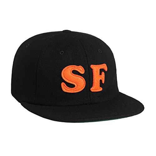 (ハフ) HUF キャップ CITY 6 PANEL HT53013 ストラップバック SF LA NY【huf274】 ワンサイズ black [並行輸入品]