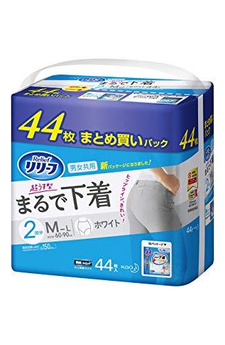リリーフ パンツタイプ 超うす型まるで下着 M~L【ADL区分:一人で歩ける方】 44枚