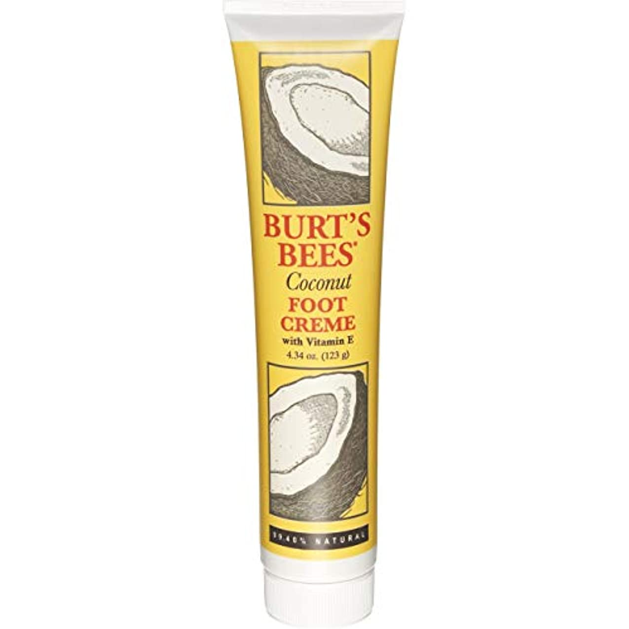 下着旅行者使用法Burt's Bees, Coconut Foot Creme 4oz by Burt's Bees