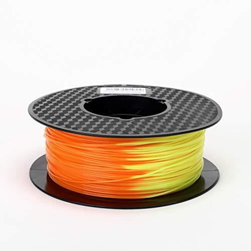 CC3D 3Dプリンターフィラメント PLA 1.75mm 1KG(2.2LBS)スプール 寸法精度+/-0.05mm 色は温度とともに変...