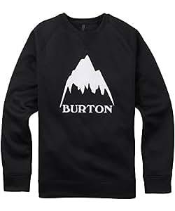 Burton(バートン) クルーネックカットソー メンズ スウェット フリース BONDED CREW XSサイズ True Black 164651 撥水 速乾 透湿 保温