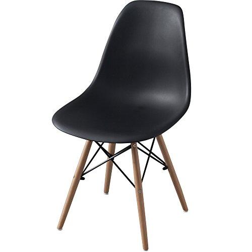 椅子 イームズチェア デザイナーズ リプロダクト ブラック PP-623