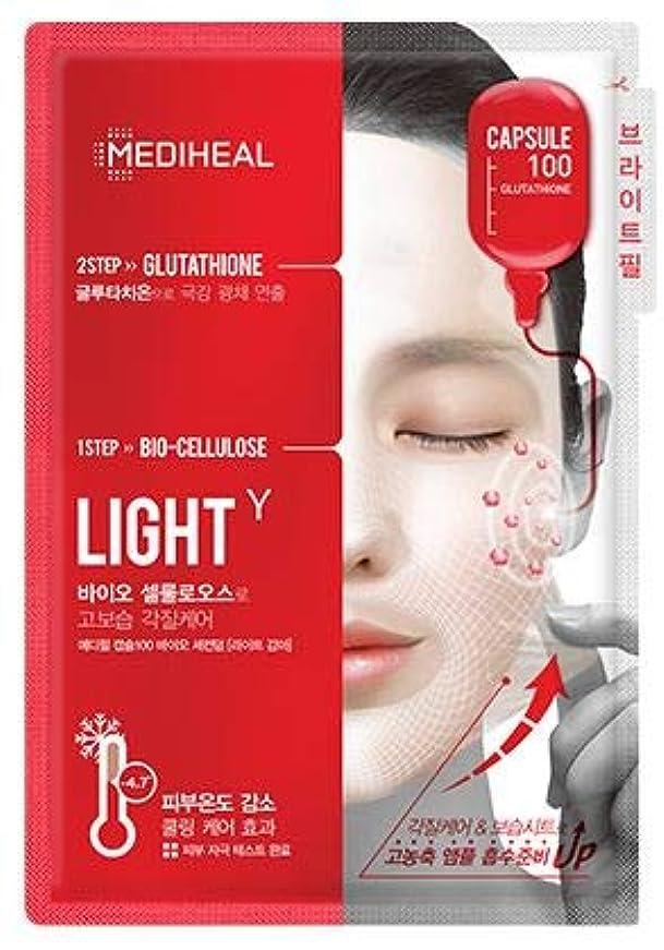 ペイントパドル手術[MEDIHEAL] Bio Seconderm Mask *10ea #ライトガンマ [並行輸入品]