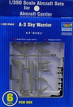 1/350 空母艦載機 A-3D スカイウォーリア