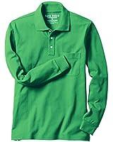 (セシール)cecile 綿100%ポロシャツ(長袖)