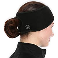 Tough Headwear Fleece Ear Warmers Headband/Ear Muffs Men & Women - Stay Warm & Cozy Our Thermal Polar Fleece & Performance Stretch. Perfect Sports & Daily Wear