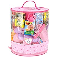 You & Me 70-Piece Doll Care Accessories Cylinder [並行輸入品]