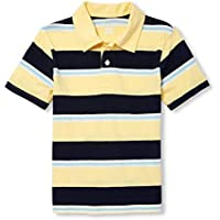 The Children's Place Baby Boys Short Sleeve Stripe Polos