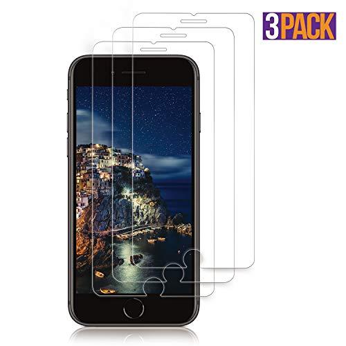 00ca8f2b10 【3枚セット】iPhone 8 plus/iPhone 7 plusガラスフィルムiPhone8 Plus / iPhone7 Plus 用 強化ガラス 液晶保護フィルムiPhone 8 plus/iPhone 7 plus 全面保護フィルム ...