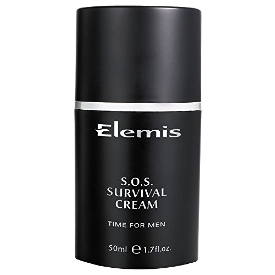 静脈不良乳白色エレミスSosサバイバルクリーム (Elemis) - Elemis SOS Survival Cream [並行輸入品]