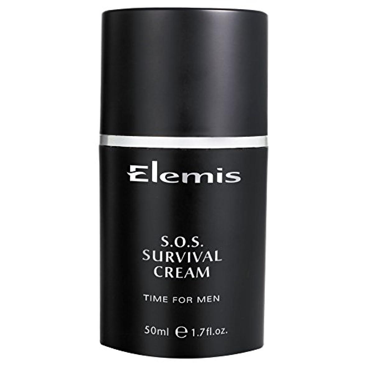 イライラするホステスお酢エレミスSosサバイバルクリーム (Elemis) (x2) - Elemis SOS Survival Cream (Pack of 2) [並行輸入品]
