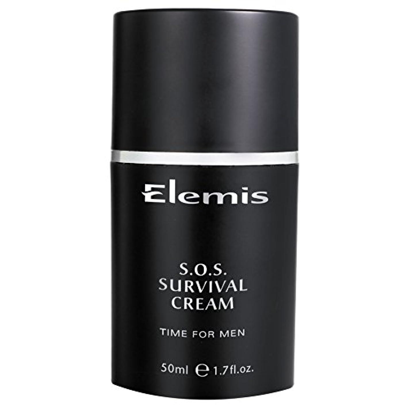 寛大さボアなぜならエレミスSosサバイバルクリーム (Elemis) (x2) - Elemis SOS Survival Cream (Pack of 2) [並行輸入品]