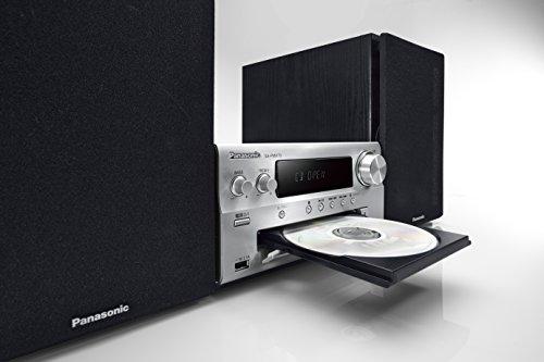 Panasonic CDステレオシステム ハイレゾ音源対応 USBメモリー/Bluetooth対応 シルバー SC-PMX70-S