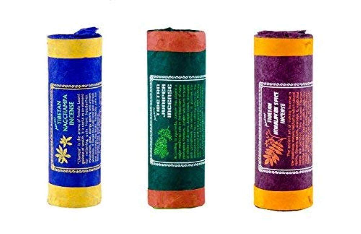 読みやすい雇用者説明Clarity & Muse Incense Bundle Pack of 3 (Tibetan Nag Champa Tibetan Juniper Ancient Himalayan Spice) - Tibetan...