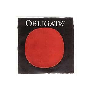 Obligato オブリガート ヴァイオリン弦 D線 シンセティックコア 4/4 シルヴァー巻 411321