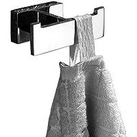 Bathfirst おしゃれ フック タオル掛け 304ステンレス製 壁掛け ねじ取り付け クロムメッキ タオルフック バスローブフック キッチン お風呂 固体ステンレス鋼