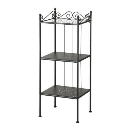 RoomClip商品情報 - RONNSKAR/シェルフユニット/ブラック(サイズ42×103cm)[イケア]IKEA(50192582)