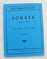 Rachmaninoff Sonata in g minor Op. 19. For Cello and Piano. Edited by Leonard Rose. International [並行輸入品]