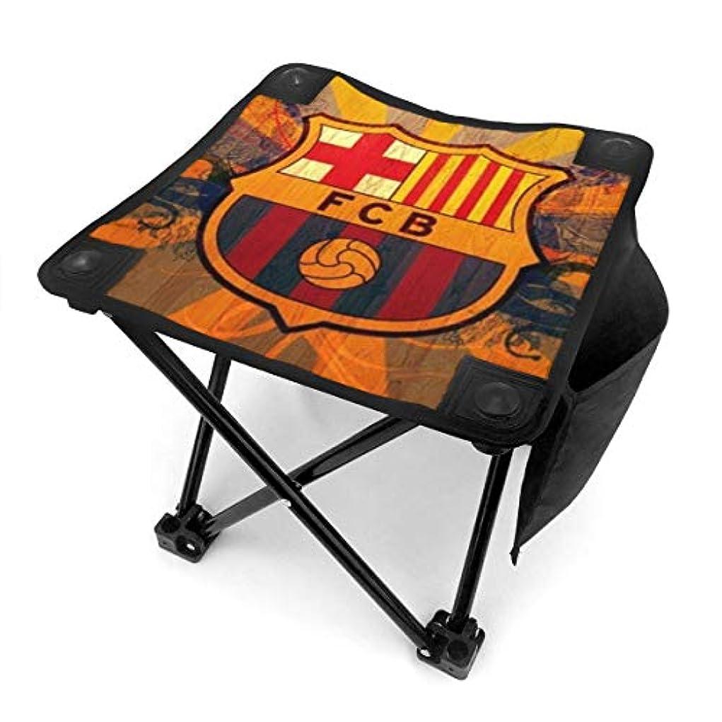 助けて礼儀動Fc Barcelona Logo アウトドアチェア 折りたたみ椅子 コンパクトイス 軽量 耐荷重100kg 収納バック付き キャンプ バーベキュー 釣り 運動会 花見 キャンプ用品 チェアー 携帯用