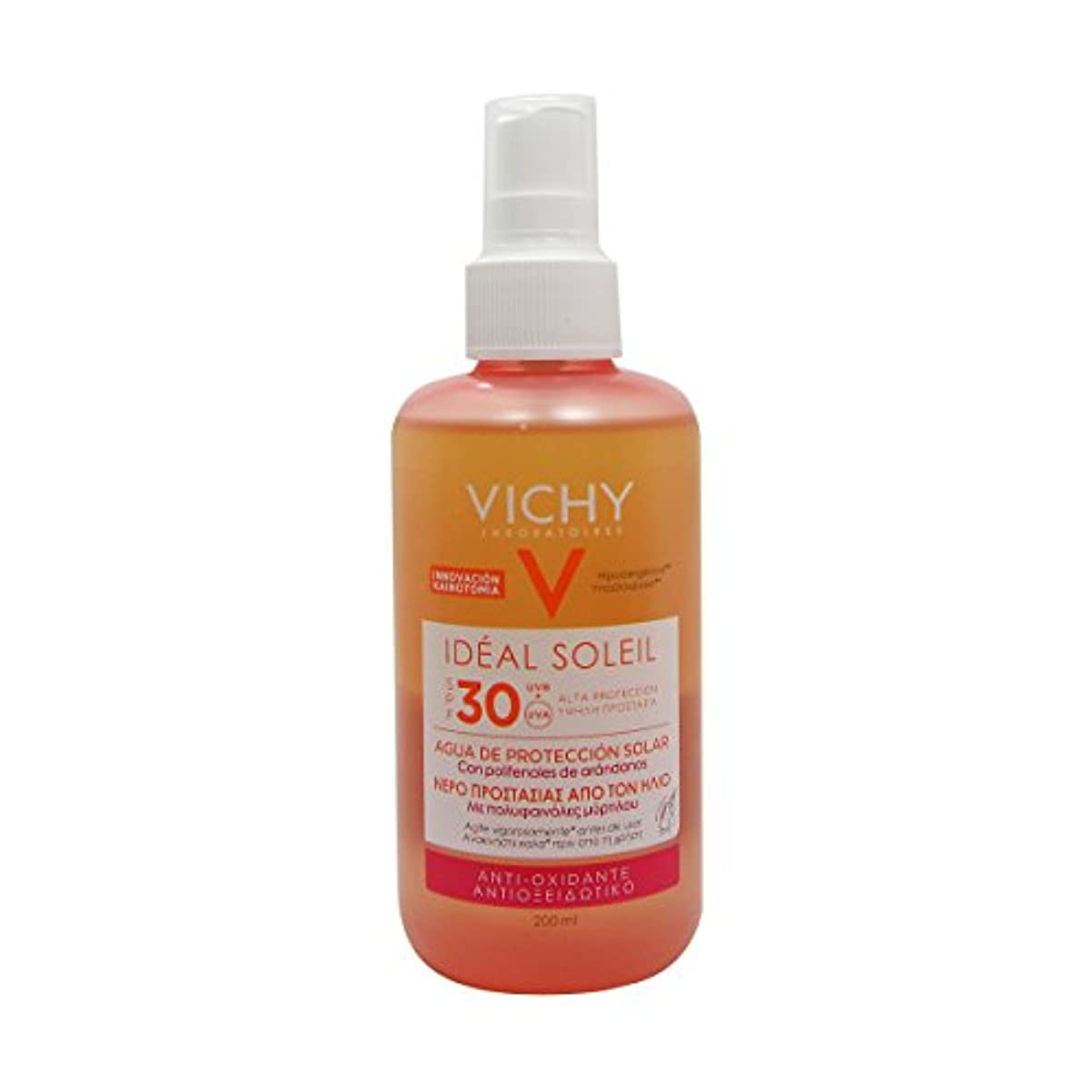 推測階層懐疑的Vichy Ideal Soleil Fresh Water Sun Protection Spf30 200ml [並行輸入品]